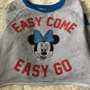 Minnie Mouse Cutoff Sweatshirt